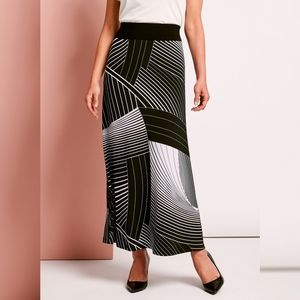 Laura Plus Abstract Maxi Dress